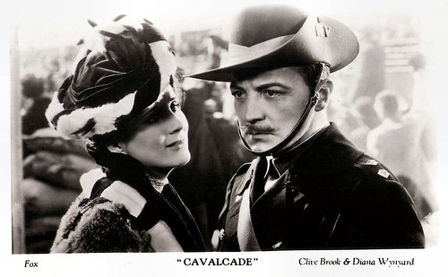 Diana Wynyard and Clive Brook in Cavalcade (1933)