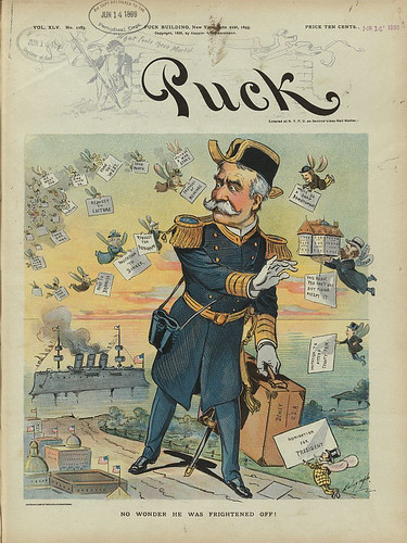 no wonder he was frightened off (1899)
