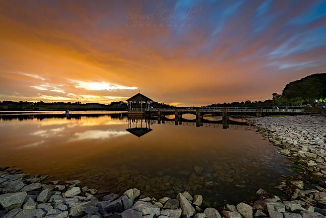 Lower Peirce Reservoir Sunset