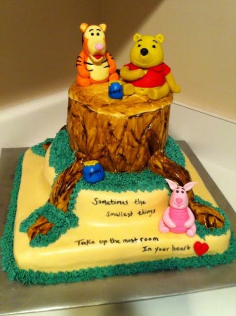 Winnie the Pooh and Friends Cake by Teri Farr of Sweet T's Bakery