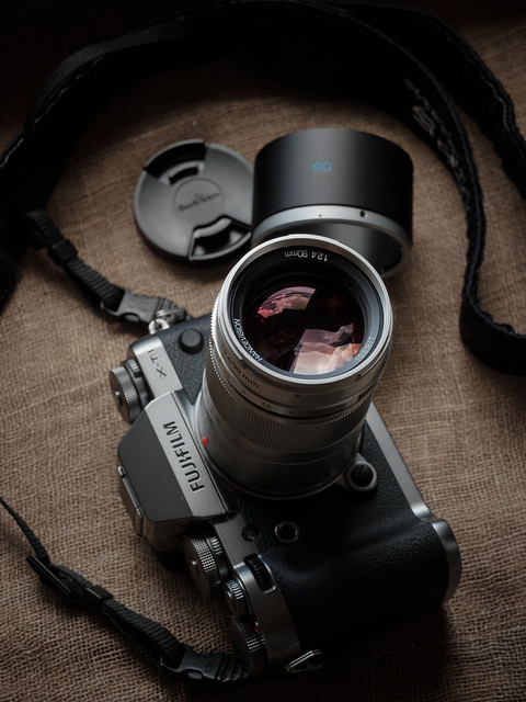 FUJIFILM X-T1 with IBERIT 2.4/90mm