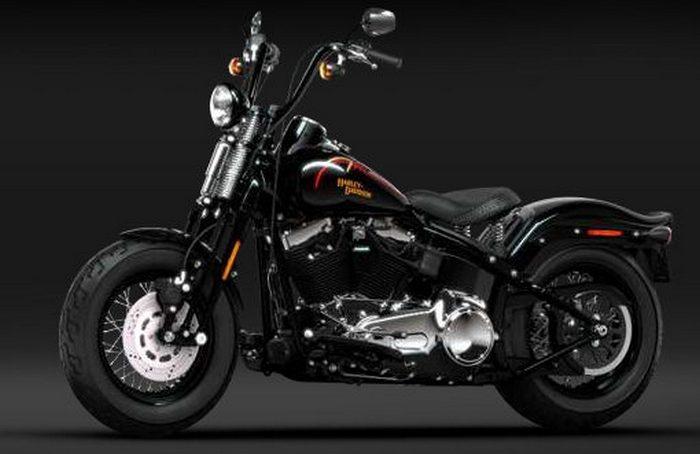 Harley-Davidson FLSTSB 1584 SOFTAIL CROSS BONES 2008 - 1