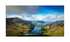 Buttermere and Crummockwater from Fleetwith Pike - Explore 18.06.2017 - No.25