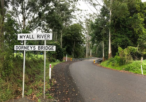 The New Dorney's Bridge over the Myall River, just North of Markwell, Bulahdelah, NSW