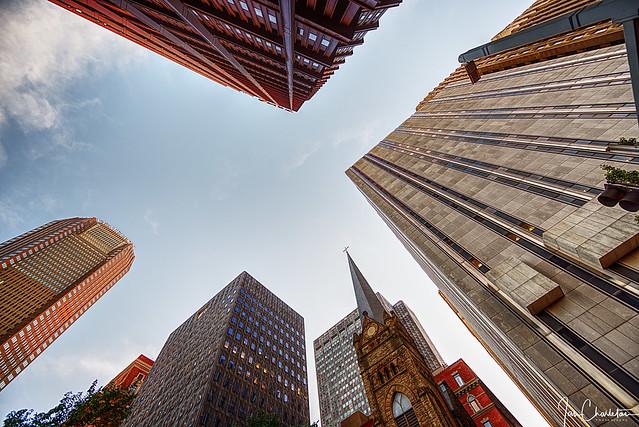 Skyward from Steel Plaza