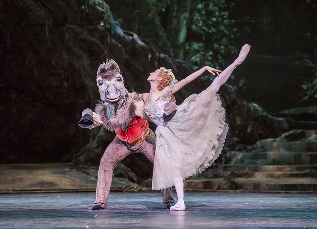 Bennet Gartside and Akane Takada in The Dream. ©ROH, 2017. Photographed by Tristram Kenton.