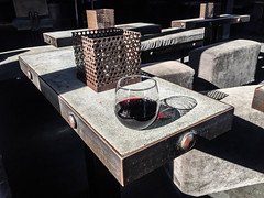 Glass of Malbec - The Other Room - Venice, California