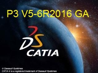 CATIA P3 V5-6R2016 full crack software