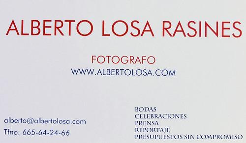 tarjeta alberto losa 5
