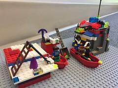 Lego club construction - June 2017