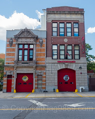 FDNY Firehouses Engine 73 and Ladder 42, East Morrisania, Bronx, New York City