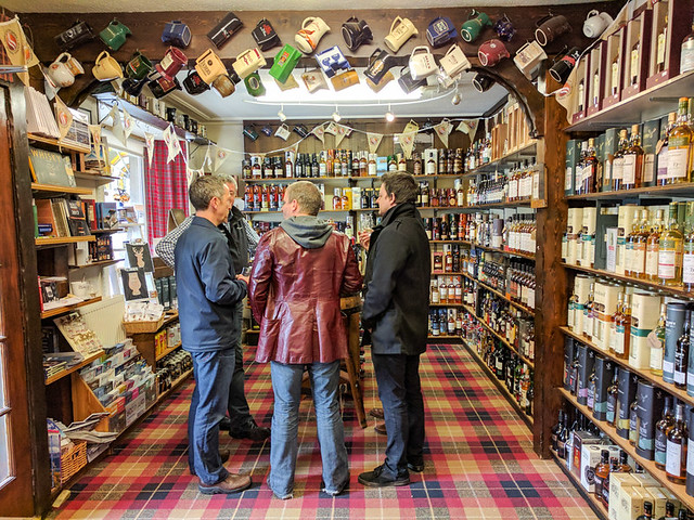 The Whisky Castle (our favorite shop in Scotland)