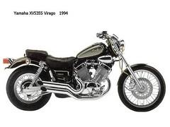 Yamaha 535 VIRAGO 1993 - 6