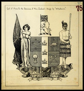 Winning Coat of Arms Competition Entry, 1908