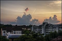 lever de soleil à Vesoul