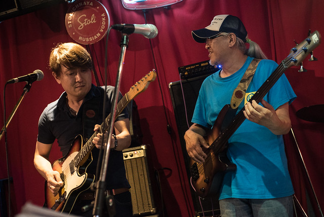 T.G.I.F. Blues Session at Terraplane, Tokyo, 14 Jul 2017 -00136
