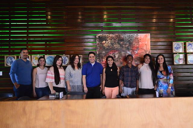 Reunión becarios Community College Initiative