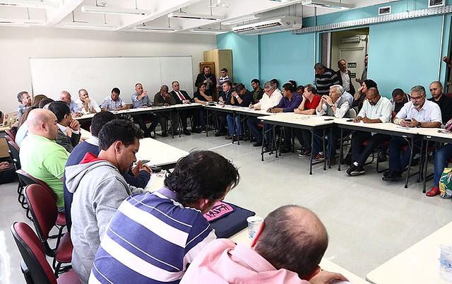 Reunião no Dieese teve participação de centrais e movimentos sociais - Créditos: Roberto Parizotti/CUT
