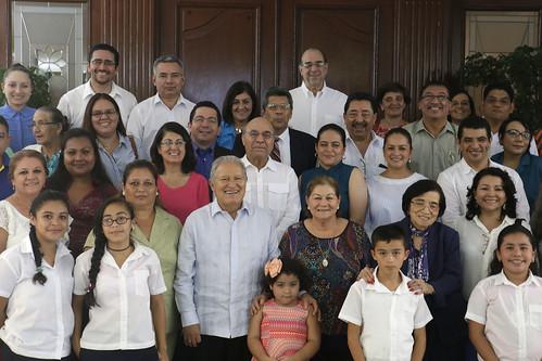 Casa Abierta-Aniversario Plan El Salvador Educado.