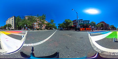 2017.06.09 DCRainbowCrosswalks, Washington, DC USA 6210