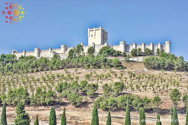 castelos espetaculares da Espanha: Peñafiel