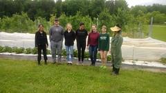 Orchard volunteers
