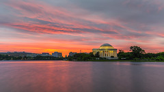 Jefferson Memorial dawn