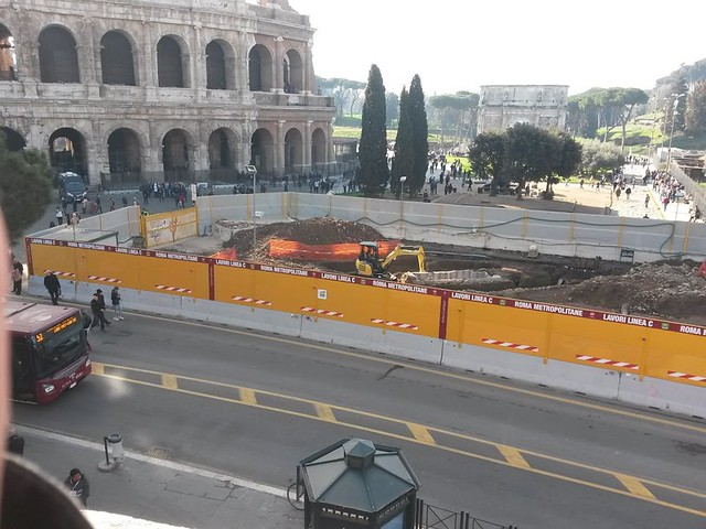 ROMA ARCHEOLOGIA e RESTAURO ARCHITETTURA:  METRO C | MOBILITA - Per questo Roma è la sola città in cui ci si può muovere stando fermi. ARCHITETTI ROMA (04/2017).