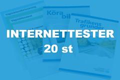 20 Internettester