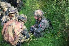 Colaboración Ejército Francés y Brigada 'Galicia' VII
