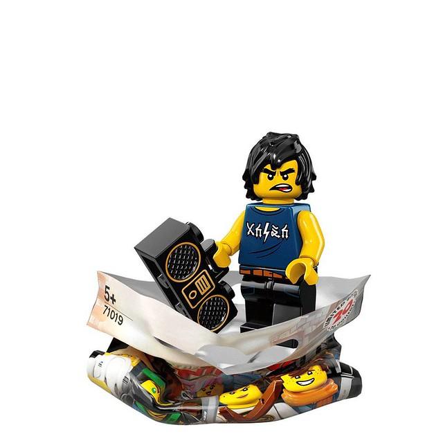 The LEGO Ninjago Movie 71019 Collectible Minifigures 6