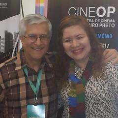 Muito bom reencontrar o gentleman, João Luís Vieira, crítico e Mestre de Cinema dos mais notáveis do país...  #blogauroradecinemaregistra #festivaisdecinema #cinema #encontros #ouropreto #cineop #gentedecinema #desarquiva #igersminasgerais #instahappy
