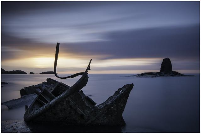 Saltwick Sunset, Nikon D300, Sigma 10-20mm F4-5.6 EX DC HSM