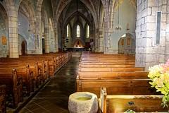 La Floceliere Vendée l'interieur de l'église