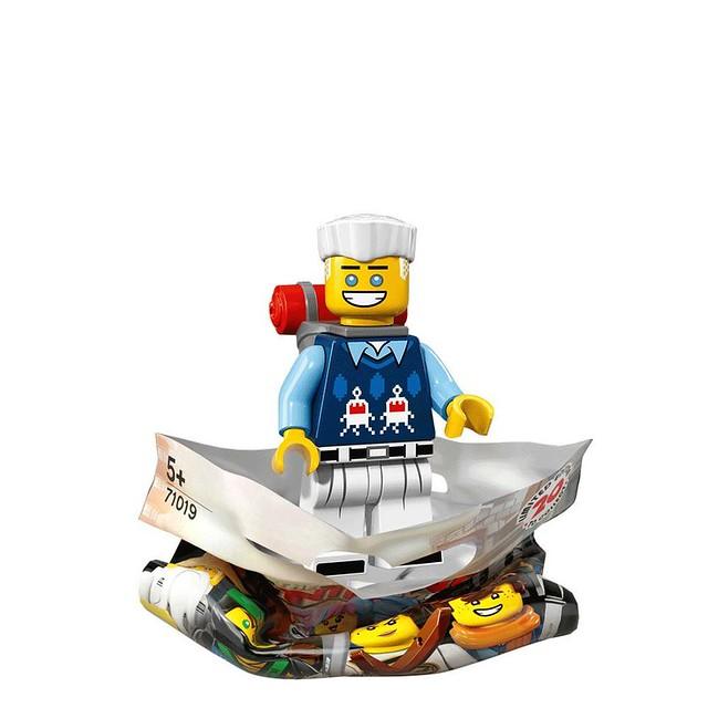 The LEGO Ninjago Movie 71019 Collectible Minifigures 5