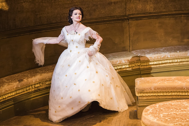 Ekaterina Bakanova as Violetta in La traviata, The Royal Opera © 2017 ROH. Photographed by Tristram Kenton