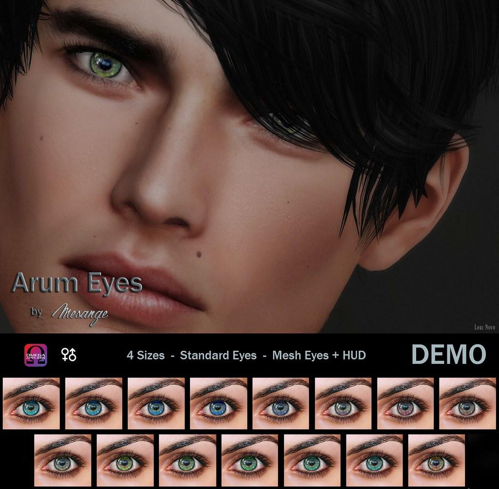 MESANGE - Arum Eyes for HME - SecondLifeHub.com