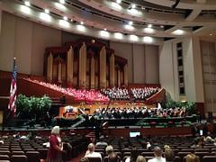 Mormon Tabernacle Choir.