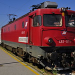 461-011 with 12432(Bar-Kragujevac-Belgrade) at Belgrade main station