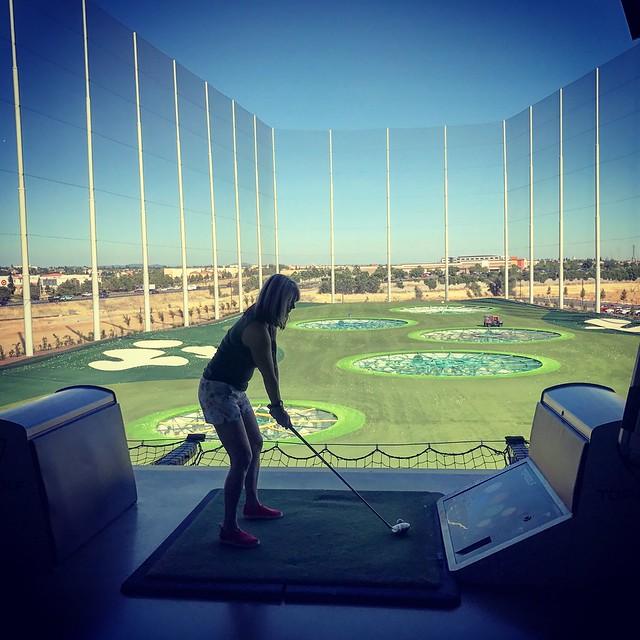 At Top Golf