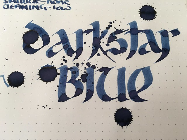 Ink Shot Review @RobertOsterInk Darkstar Collection @dkstrcollection 8