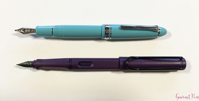 Review Sailor 1911 Large Fresca Fountain Pen - Music Nib @PenChalet 16