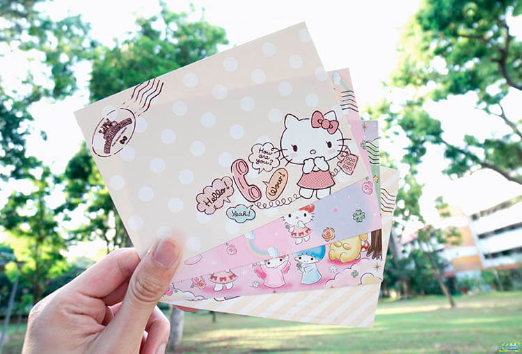 Hello Kitty Postcards