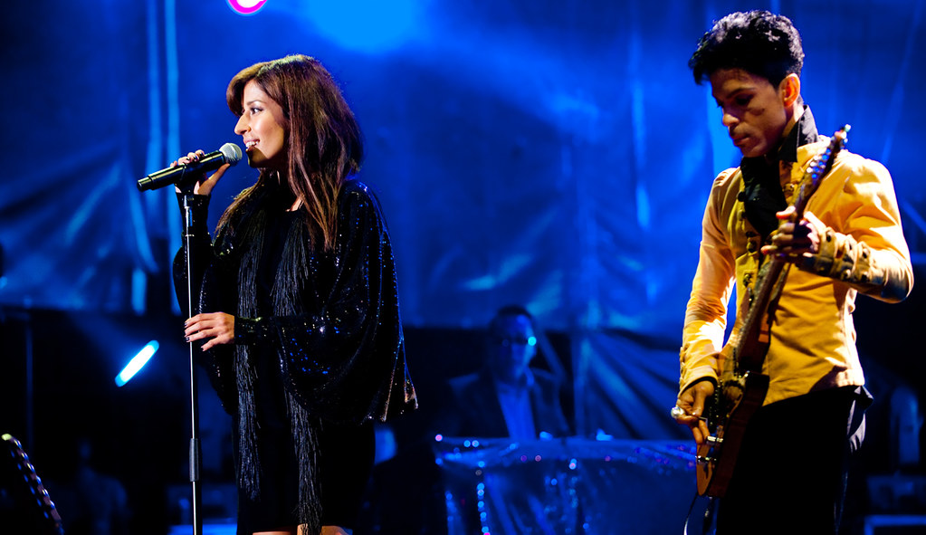 PRINCE feat. ANA MOURA LIVE AT SUPER BOCK SUPER ROCK FESTIVAL - PORTUGAL