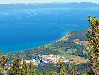 South Lake Tahoe from Heavenly Gondolas 2010