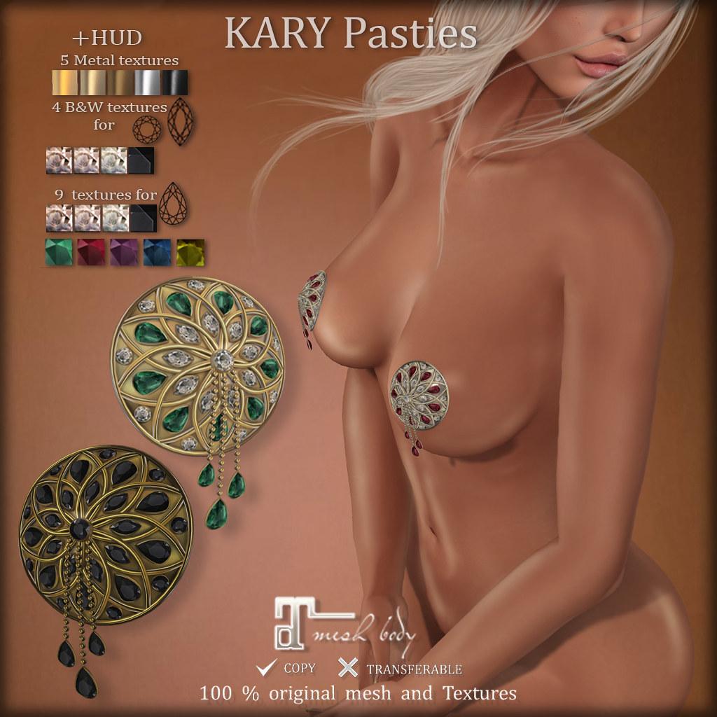 KARY Pasties (for Maitreya)