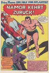Die Spinne 6 / Seite 22 (Prinz Namor / splash panel)