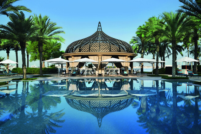 One&Only Royal Mirage The Palace Pool Bar Esplanade