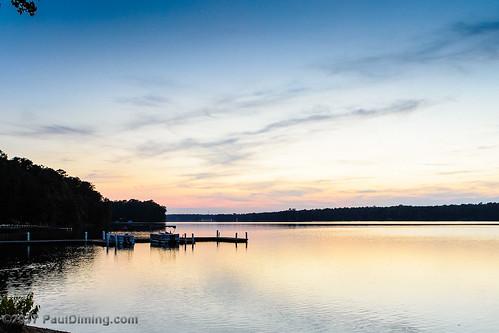 midlothianvirginia v1 lake landscape sunset sunsets n1v1 virginia swiftcreekreservoir pauldiming pamdiming pam fall midlothian dailyphoto unitedstates us