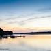 Sunset - The Boathouse @ Sunday Park  on Swift Creek Reservoir - Midlothian, VA by Paul Diming